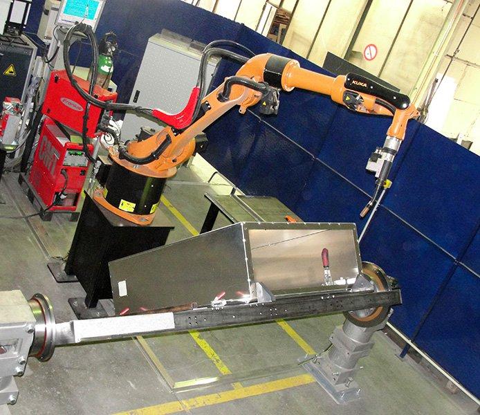 MétalFormage robot Kuka
